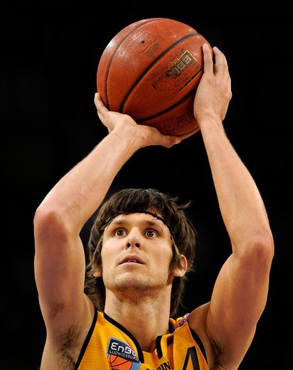 Basketball Bundesliga Premier League Germany 2008 Nate HARRIS EnBW Ludwigsburg : Stock Photo