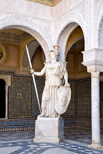 Casa Pilatos, Seville, Andalusia, Spain, Europe : Stock Photo