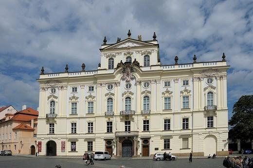 Archbishop´s Palace, Prague, Czech Republic, Europe : Stock Photo