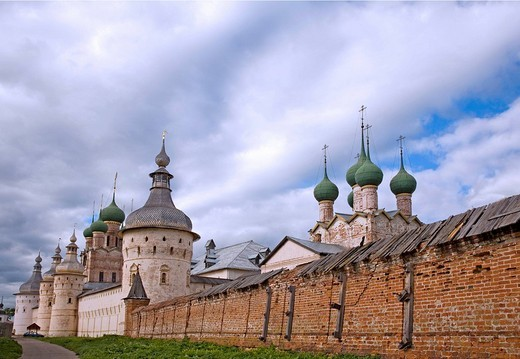 Kremlin, Rostov, Russia : Stock Photo