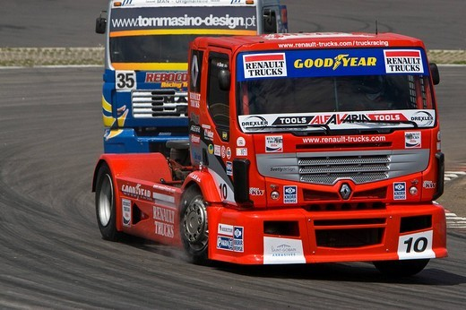 Stock Photo: 1848-189482 Truck Grand Prix, Nuerburgring, Adenau, Eifel, Rhineland_Palatinate, Germany, Europe