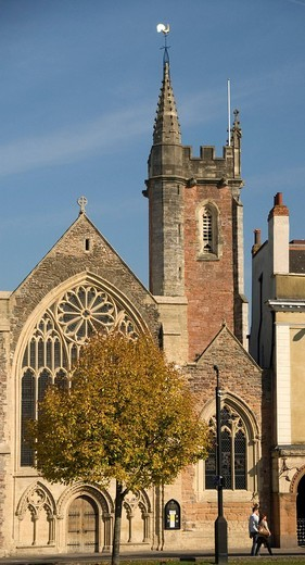 Church, Park Street, College Green, Bristol, England, Great Britain, Europe : Stock Photo