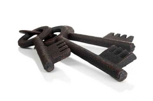 Bunch of keys : Stock Photo