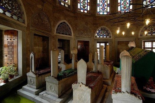 Ferhad Pasa, Eyuep Mausoleum, Istanbul, Turkey : Stock Photo