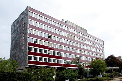 Stock Photo: 1848-192334 Headquarters of the Woolworth Deutschland GmbH company in Frankfurt am Main, Hesse, Germany, Europe