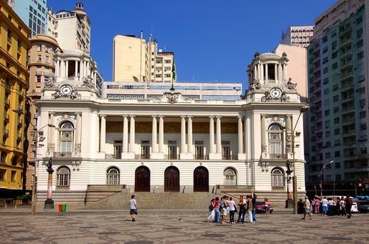 Palácio Pedro Ernesto, Municipal Council Building, Rio de Janeiro, Brasil : Stock Photo