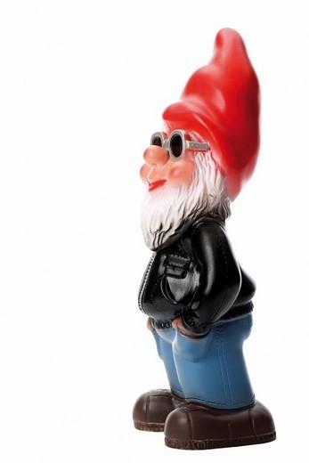 Garden gnome : Stock Photo