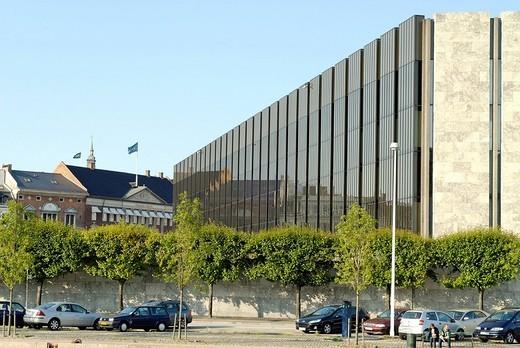 Stock Photo: 1848-196028 Building of the Nationalbanken, Danish National Bank, Copenhagen, Denmark, Europe