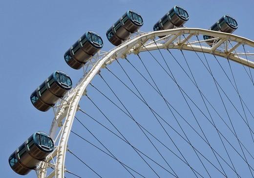Flyer ferris wheel in Singapore, Southeast Asia : Stock Photo