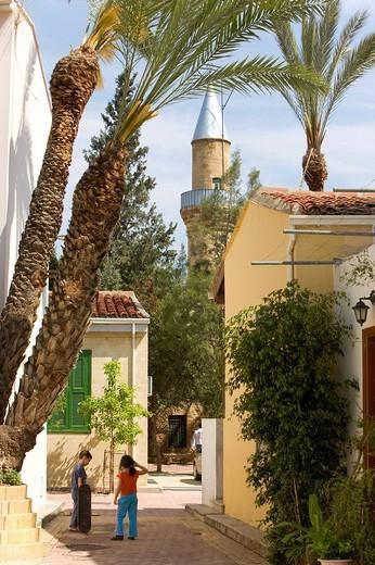 Restored old quarter, Nicosia, Cyprus, Greece, Europe : Stock Photo