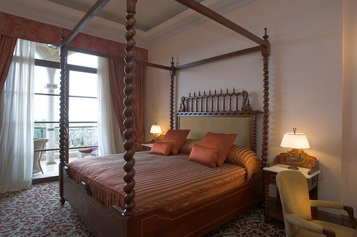 Castillo hotel son Vida, Palma de Majorca, Spain. : Stock Photo