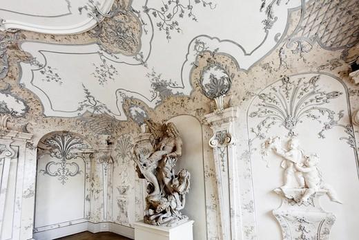 Stock Photo: 1848-198385 Sala terrena, Schloss Hof castle in Schlosshof, Marchfeld, Lower Austria, Austria, Europe