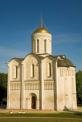 Stock Photo: 1848-202780 St. Demetrius´ Cathedral Vladimir, Russia