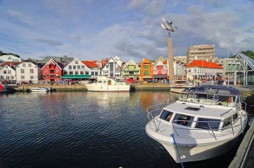 Port of Stavanger, Rogaland, Norway, Scandinavia, Europe : Stock Photo