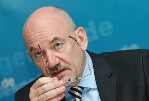 Matthias Kurth, President of the Federal Network Agency : Stock Photo
