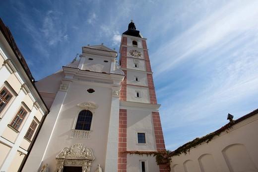 Stock Photo: 1848-204581 Norbertine Abbey in Geras, monastery, Waldviertel, Forest Quarter, Austria, Europe
