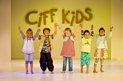 Stock Photo: 1848-206438 Children´s fashion show, Ciff Kids