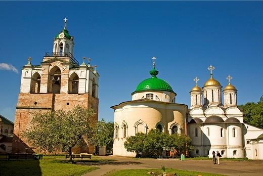 Transfiguration of the Saviour monastery, Yaroslavl, Russia : Stock Photo