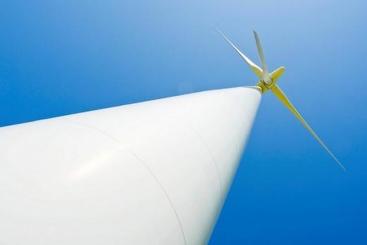 Stock Photo: 1848-207564 Wind turbine, Schleswig_Holstein, Northern Germany, Europe