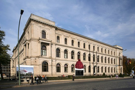 Federal ministry for traffic, building and city development, Berlin, Germany, Europe : Stock Photo