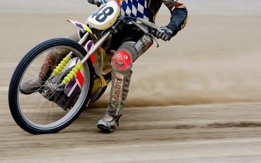 Speedway racing : Stock Photo