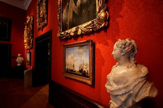 Stock Photo: 1848-210894 Art in the museum Mauritshuis in The Hague Netherlands