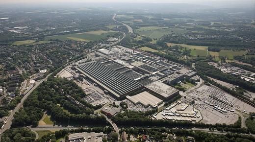 Stock Photo: 1848-211768 Aerial photo, Bochum, Opel factory 1, Langendreer, Bochum, Ruhr area, North Rhine_Westphalia, Germany, Europe