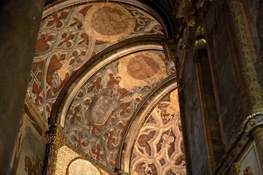 Convento da Ordem de Cristo, Tomar, Santarem, Portugal, Europe : Stock Photo