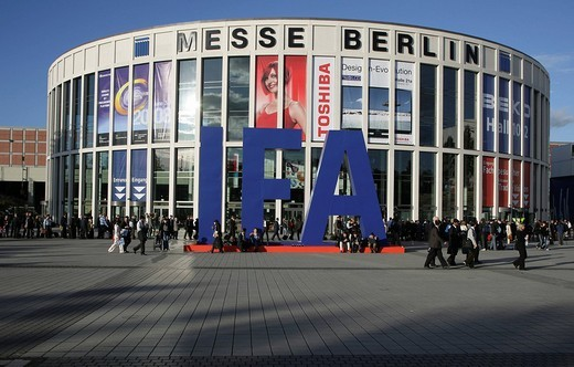 Test and proving ground during the International Radio Show IFA in Berlin, Germany : Stock Photo