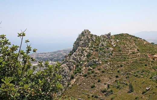 Mountains, Northern Cyprus, Cyprus, Europe : Stock Photo