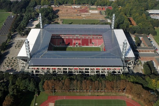 Stock Photo: 1848-214896 DEU, Germany, NRW, Cologne, 22.09.2005 : Football stadium, Rheinenergie Stadion. ,