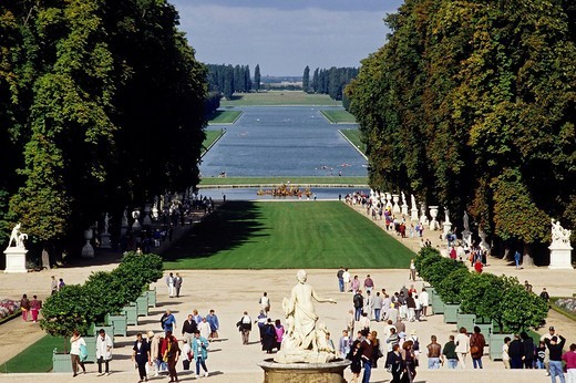 Stock Photo: 1848-215326 Gardens of the Palace of Versailles, Versailles, France, Europe