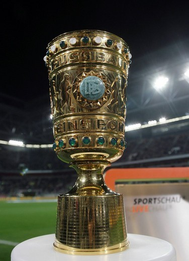 Stock Photo: 1848-216078 The DFB_Pokal, German Football_Federation Cup in the LTU_Arena football stadium, Duesseldorf, North Rhine_Westphalia, Germany, Europe