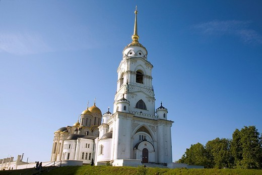 Stock Photo: 1848-21805 Bell tower of the Assumption Cathedral, Vladimir, Russia
