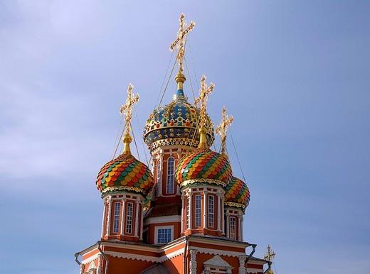 Stock Photo: 1848-21840 Virgin´s Nativity Church, Nizhny Novgorod Gorky, Russia