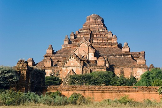 Pagoda, Old Bagan, Pagan, Burma, Myanmar, Asia : Stock Photo