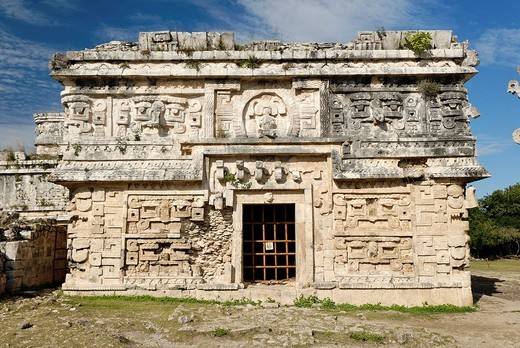 Anexo de las Monjas, Maya and Toltek archeological site Chichen Itza, new worldwonder, Yucatan, Mexico : Stock Photo
