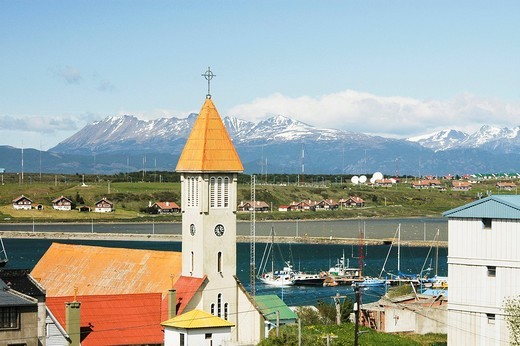 Ushuaia, Tierra del Fuego, Argentina : Stock Photo