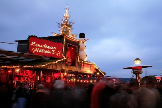 Stock Photo: 1848-22236 Christmas market in the city center of Constance, Baden_Wuerttemberg, Germany