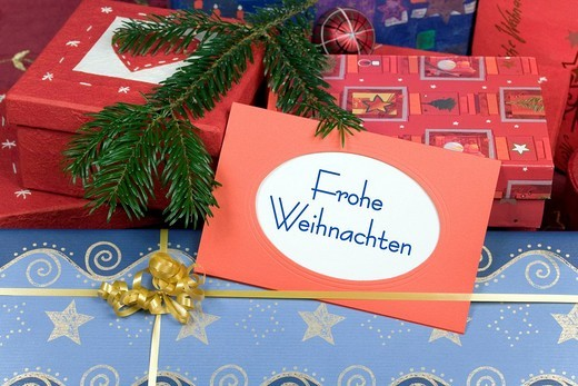 Stock Photo: 1848-222640 Christmas presents