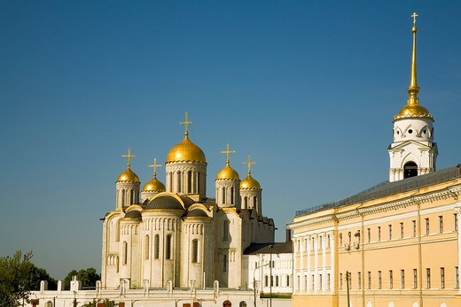 Assumption Cathedral, Vladimir, Russia : Stock Photo