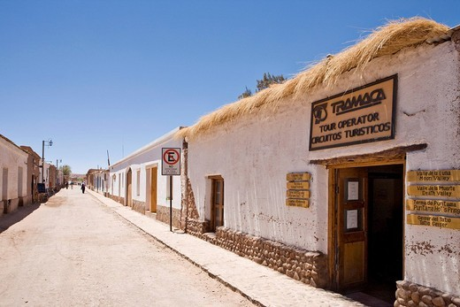 Stock Photo: 1848-225121 Travel agency, San Pedro de Atacama, Región de Antofagasta, Chile, South America