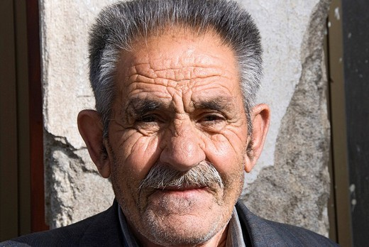 Stock Photo: 1848-225767 Portrait of an old man, Troodos, Cyprus