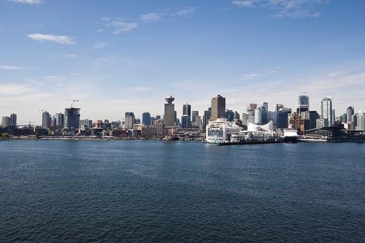 Vancouver skyline, British Columbia, Canada, North America : Stock Photo