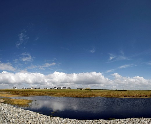 Stock Photo: 1848-227649 Etang, lake, Brittany, Bretagne, France, Europe