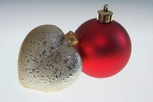 Stock Photo: 1848-229062 Christmas balls.