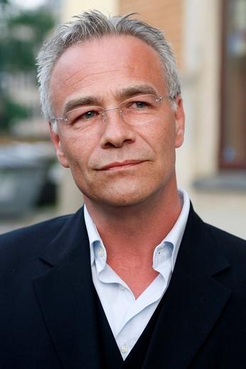 Stock Photo: 1848-230208 Klaus J. Behrendt, actor, Tatort, German TV crime series