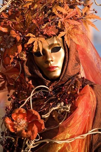 Carnival in Venice, Italy, Europe : Stock Photo