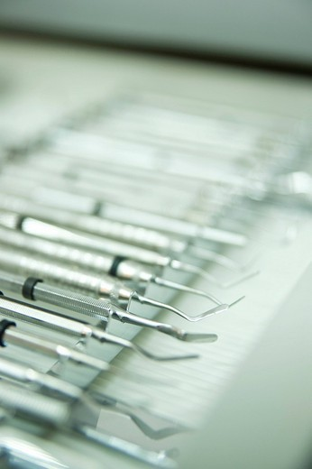 Stock Photo: 1848-232013 Dentist´s equipment