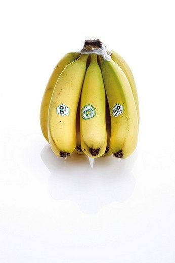 Bunch of organic bananas : Stock Photo